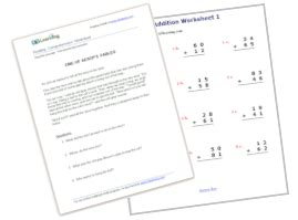 reading and math enrichment program for k5 learning website with printable