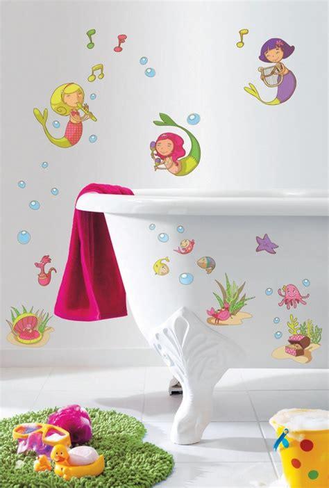 une d 233 coration maline avec des stickers salle de bain