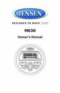 Jensen Ms2013bt Hifi System Download Manual For Free Now
