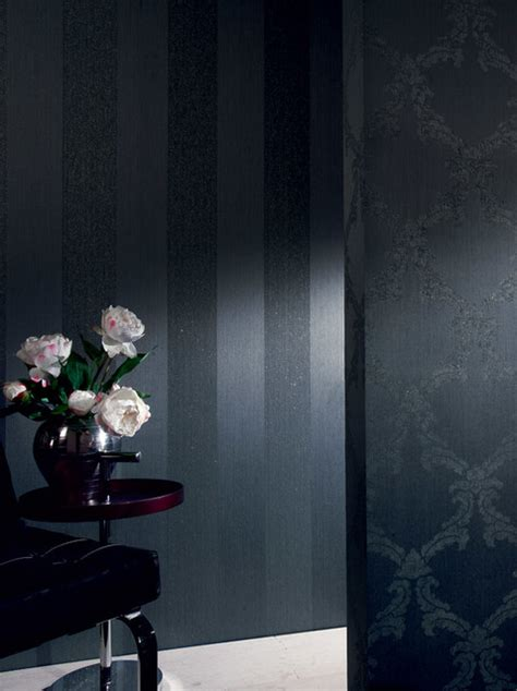 modern wallpaper accent wall wallpaper accent wall contemporary wallpaper toronto by designers wallpaper