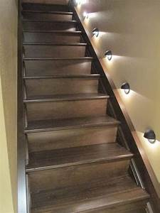 17 best basement ideas on pinterest basements basement for Basement lighting ideas for the stairway area