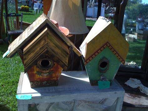 wood  corner frame samples unique bird houses