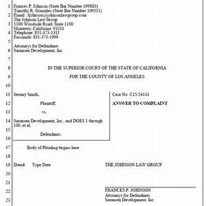 calpleadings california pleading templates for word With legal caption template