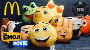 "2017 McDonald's Happy Meal ""THE EMOJI MOVIE"" complete ..."