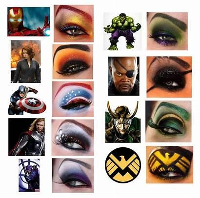 Makeup Avengers Eye Looks Inspired Zombie Beauty