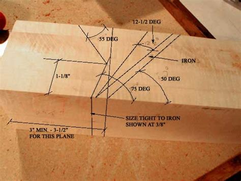 woodwork wooden block planes  plans