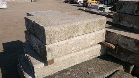 salvaged granite coping news and
