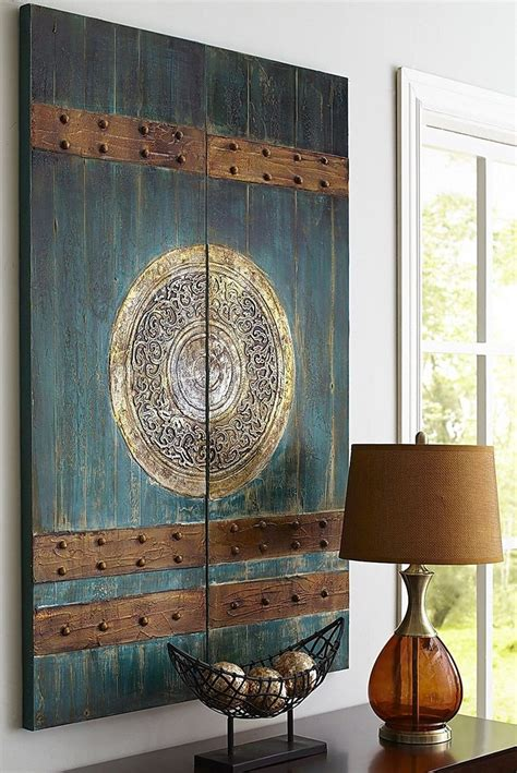 Asian themed wall art elitflat pier one wall art bronze world map art loading zoom gumiabroncs