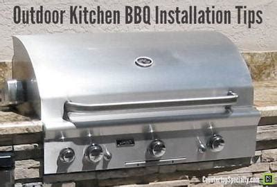 outdoor kitchen design  barbeque grill safety