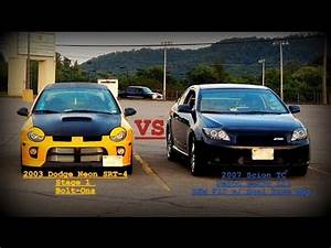 Turbo Scion TC vs Dodge Neon SRT4