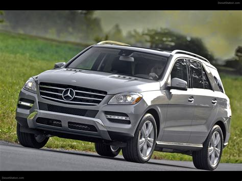 Mercedes proves that more is more. Mercedes Benz ML350 4MATIC 2012 Exotic Car Picture #01 of 64 : Diesel Station