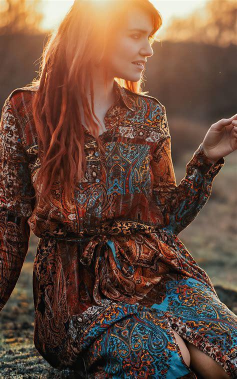 800x1280 Dawn Time Redhead Girl 4k Nexus 7 Samsung Galaxy