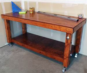 DIY Simple Workbench Project - Woodworking Bench