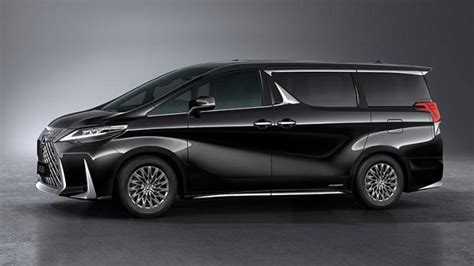 lexus lm officially revealed  luxury minivan