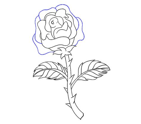 Collection Free Triangles Drawing Rose Download