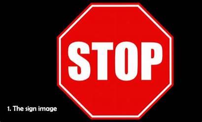 Sign Stop Progress Sensor Clip Clipart Roles