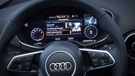 qnx  action audi fpk driver information display youtube