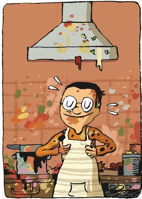 bilderstrecke zu franzoesische kueche im comic kochen ist