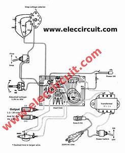 Component Computer Power Supply Diagram The Circuit At And