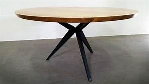 Table Ronde Bois Metal : table repas papillon ronde artmeta tables m tal et bois id es pour la maison pinterest ~ Teatrodelosmanantiales.com Idées de Décoration