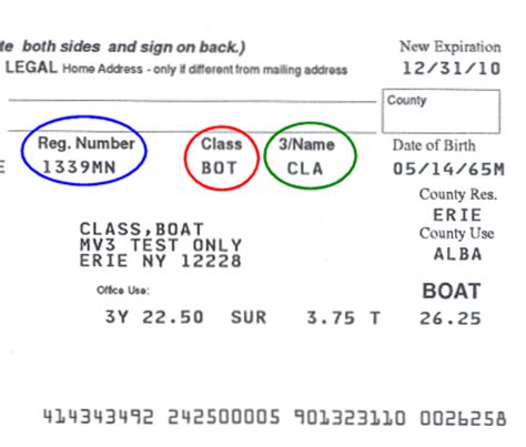 Boat Registration Ct by Sle Registration Documents New York State Department