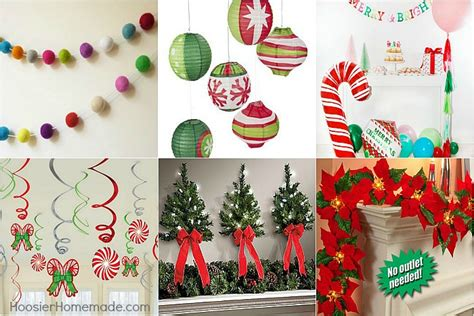 host a christmas ornament making party decorating ideas hoosier
