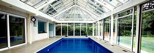 construction et integration d39une piscine interieure dans With construction piscine couverte chauffee