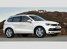 Volkswagen MidSize SUV for the US Rendered autoevolution