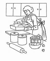 Coloring Baking Mother Pages Cookies Tocolor Button Using Hard sketch template