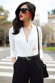 Outfits with Black and White Color