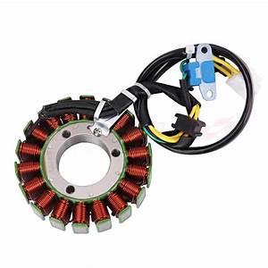 Generator Magneto Copper Wire Coil Stator For Suzuki Gw250