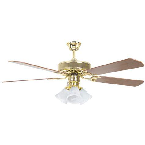 home elegance ceiling fan 52 concord fans 52 quot heritage home elegant polished brass