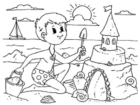 immagini dellestate da colorare e stare 5 disegni da colorare sull estate