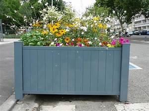bcm jardesign produits bacs a fleurs et jardinieres With chambre bébé design avec bac a fleur muret