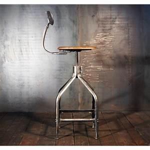 Chaise De Bar Industriel : tabouret nicolle queue de baleine tabourets industriel chaise de bar ~ Teatrodelosmanantiales.com Idées de Décoration