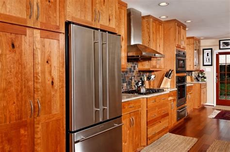 rustic cherry kitchen cabinets rustic cherry cabinetry Rustic Cherry Kitchen Cabinets