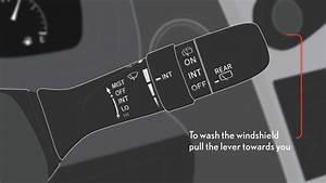 2013 Lexus Windshield Wipers And Rear Window Wiper