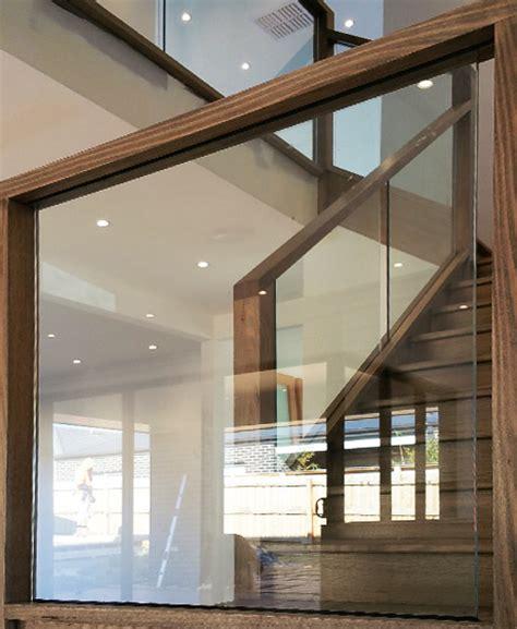 glass balustrade stairs melbourne frameless glass