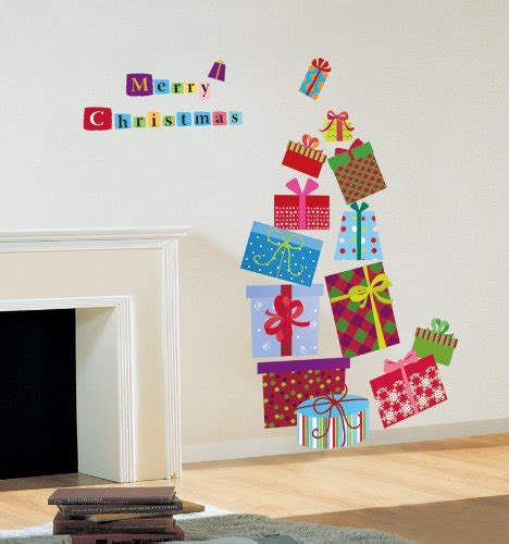 christmas decoration wall sticker decal home furniture stock