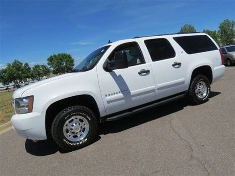 cheap ls for sale sell used 2007 chevrolet suburban 2500 ls 4x4 6 0 v8 runs
