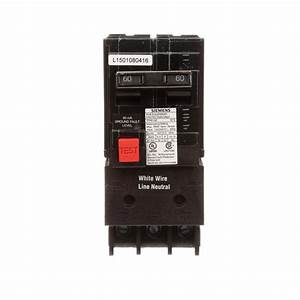Siemens 60 Amp Double Pole Type Qe Ground Fault Equipment