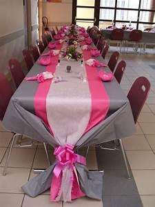 Deco Table Rose Et Gris : mariage gris et fuschia decoration mariage en 2019 ~ Melissatoandfro.com Idées de Décoration
