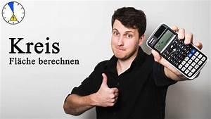 Kreis Berechnen Umfang : fl chenberechnung kreis fl che umfang berechnen youtube ~ Themetempest.com Abrechnung