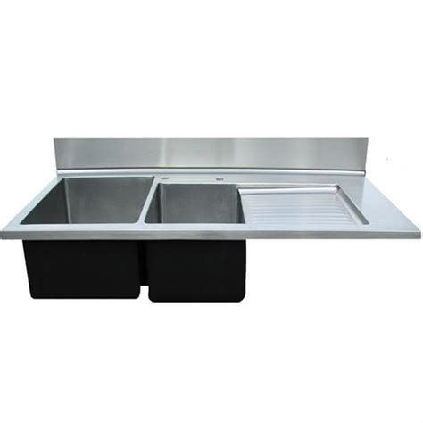 kitchen sink with drainboard and backsplash 24 kitchen sink with drainboard and backsplash nbi 9585