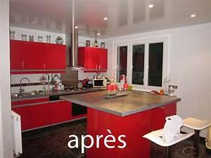 Peindre Meuble Cuisine : repeindre meuble de cuisine sans poncer 4 peinture pour ~ Melissatoandfro.com Idées de Décoration