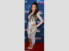 Mel B wears eyepopping seethrough dress on the America's