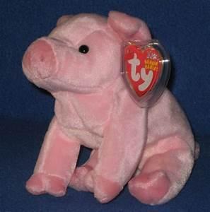 Ty Hamlet The Pig Beanie Baby