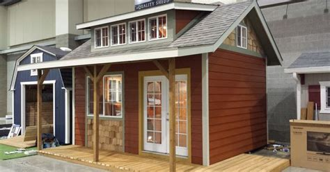 better built barns seattle home show at century link 2014 12x16 with