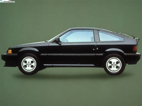 Honda Civic Crx 1986 Review