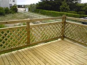amenagement exterieur garde corps porche pinterest With modele escalier exterieur terrasse 8 balustrade bois exterieur pas cher